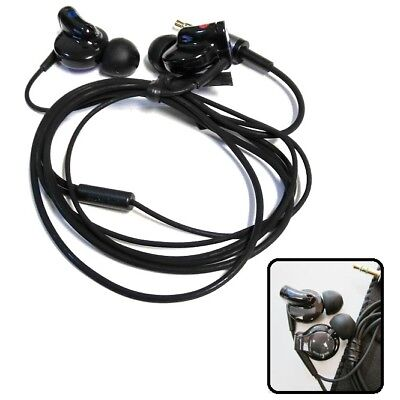 New Black Stereo Headphones for MP3 &iPod, Music Only for LG, SONY,(Audio Only) ()