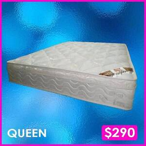 Mattresses | Euro Top | King, Queen, Double Sizes Hindmarsh Charles Sturt Area Preview