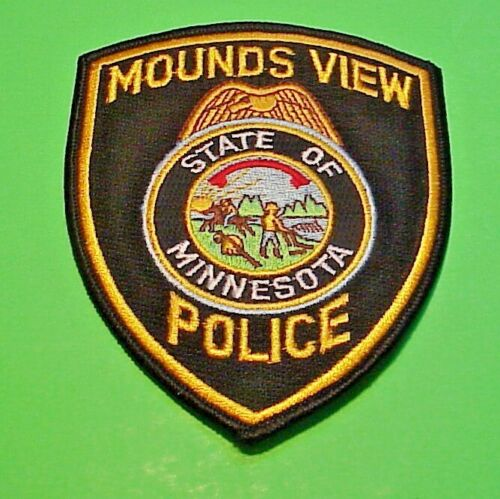 "MOUNDS VIEW  MINNESOTA  MN  5""  POLICE PATCH  FREE SHIPPING!!!"