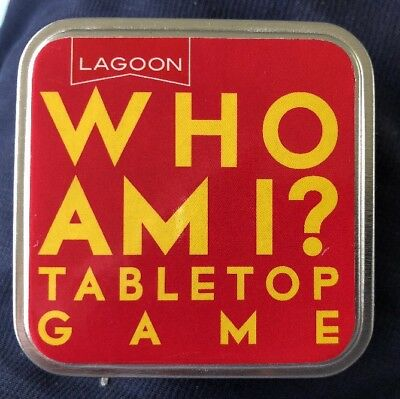 Who Am I Tabletop Game. B4