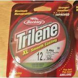 Berkley Trilene XL Low Vis Green Fishing Line, 12 lb Test, 300 Yds
