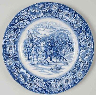 Liberty Blue Dinnerware - Vtg Liberty Blue 8.5