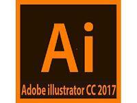 Adobe Illustrator 2017 CC Windows 7/ 8/ 8.1 & 10