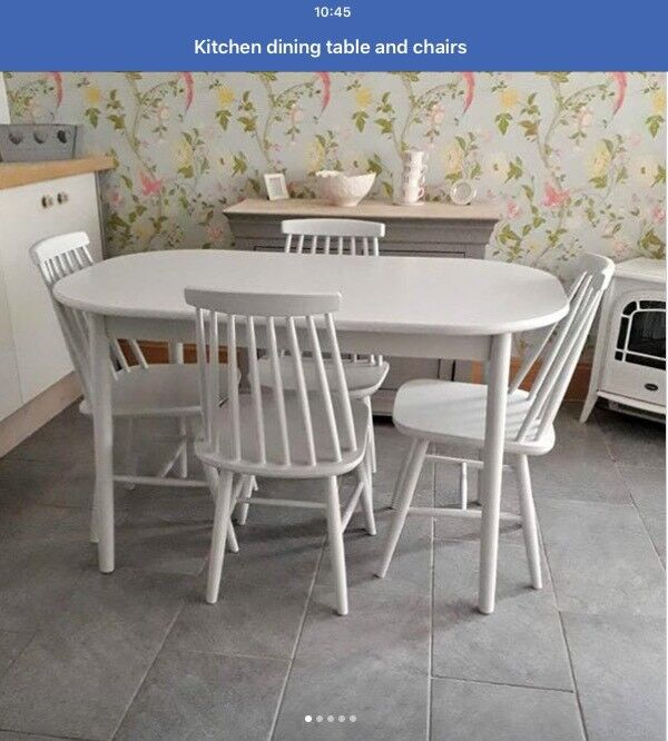 Shabby Chic Table Chairs Rotherham