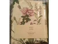 brand new M&S curtains cost £85 each selling £25
