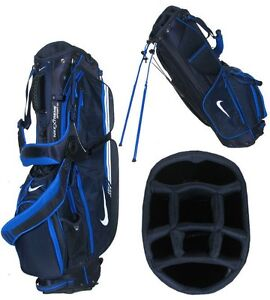 New Nike Xtreme Sport IV Stand Carry Golf Bag Navy/White/Blue