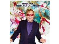 Elton John .. Leeds .. FACE VALUE TICKETS!!!