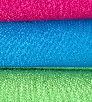 Qualität Baumwolle Stoff (Pique Jersey, Baumwolle, Top Qualität , Meterware, 160cm breit, vielen Farben!)