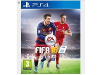 FIFA16 GAME PS4 FOR SALE