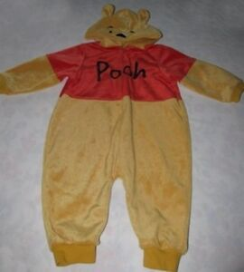 Disney Winnie Pooh Halloween Costume with Hood 1PC 18 Months
