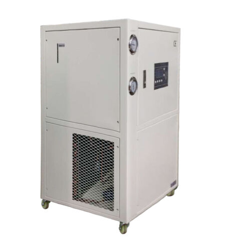1 TON AIR COOLED CHILLER, Industrial Water Chiller, Portable 220V/1Ph, HBC-1