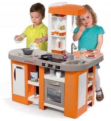 SMOBY TEFAL CUISINE STUDIO XL BUBBLE CHILDREN KIDS ROLE PLAY KITCHEN AGE 3+ YRS