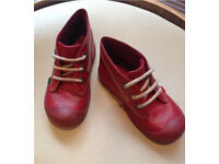 Toddlers Red Kicker Boots - Size 9 (Infants)