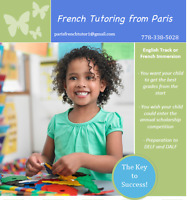 FRENCH TUTORING FROM PARIS