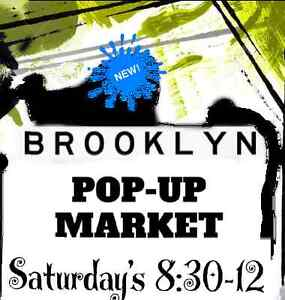 Brooklyn Pop Up Market - last one then closing for the season