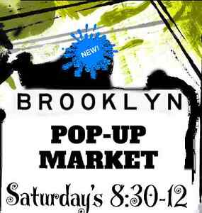 Brooklyn (Newport) Pop Up Market - last day!