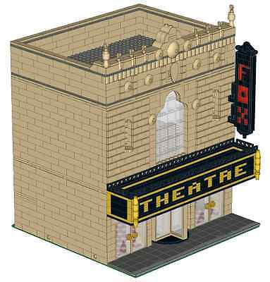 LEGO Theatre Modular Building Custom Instructions USB Flash Drive ()