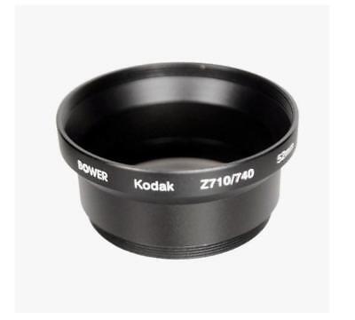 Bower 52mm Metal Adapter Tube for Kodak EasyShare Z710 ZD710 Z650 (52mm Adapter Tube)