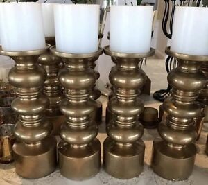 Gold Candlesticks for hire - wedding, engagement, party Caves Beach Lake Macquarie Area Preview