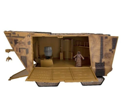 Disney Parks Star Wars Sandcrawler Jawa Droid Factory Playset In Hand