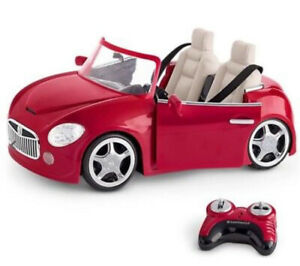 Brand new,  American Girl RC sports car with remote