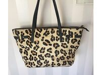 Kurt Geiger Leopard print handbag