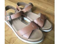 Timberland brown sandals 4 UK BRAND NEW