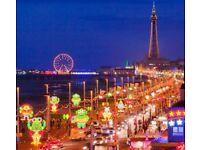 4 night caravan rental throughout Blackpool Illumination period- Mon-Friday at Havens Cala Gran park