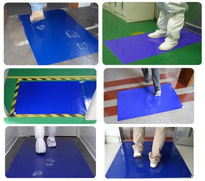 (Sticky Mat Contamination Laboratory Clean Room Blue10 mats 300 Sheet Tacky )