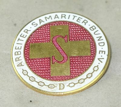 großer alter PIN Abzeichen Arbeiter Samariter Bund 3,2 cm