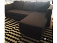 HEALS Metal Grey 3 x Seat DESIGNER Sofa Couch *Awesome Condition* Habita Ikea