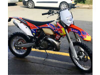 Ktm xc 250cc road registered 2013 clean bike MOT