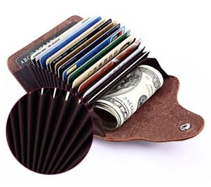 Real Leather Cards Holder Wallet