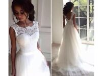 Wedding dress size 10-12