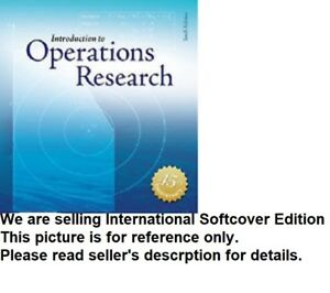 (CD INCLUDED) HILLIER 10e Introduction to Operations Research