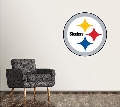 Pittsburgh Steelers Wall Decal Logo Football NFL Art Sticker Vinyl LARGE SR113