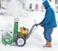 Snow Removal Service - Fredericton - SnowBlowing (506)897-4848