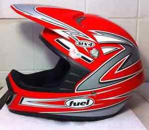 FUEL MX4 Large Helmet