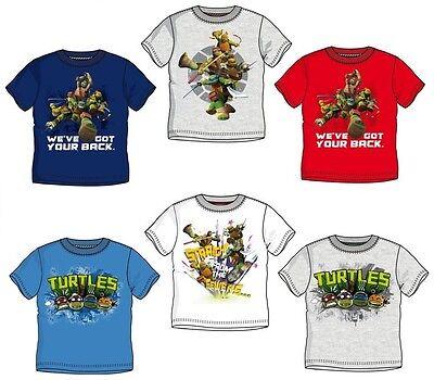 t 98 104 116 128 Junge Shirt Turtels kurzarm Kinder Leonardo (Ninja Turtles-t-shirt)