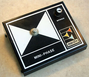 Vintage 1970's Maestro MINI-PHASE MPS-2 effects pedal