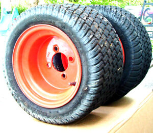Used Front Wheels for Kubota BX Tractor