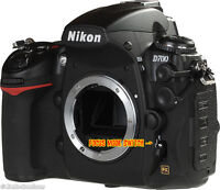 Nikon D700 FX camera. ONLY 34,500 Shots. MINT !!