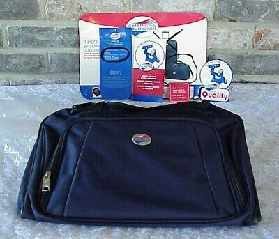 Vintage American Tourister Tote Duffle Bag Travel Lightweight Navy NEW American Tourister Lightweight Suitcase
