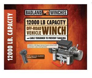 HOC  -  12000 LB POUND OFF ROAD VEHICLE WINCH  + FREE SHIPPING + 90 DAY WARRANTY