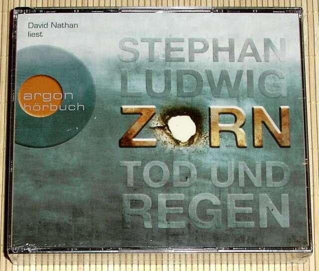 NEU, OVP 6-CD-Box Stephan Ludwig - ZORN Tod und Regen - Kommissar Claudius Zorn