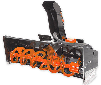 72 Skid Steer Snow Blower Standard Flow Attachment For Skid Steer Loader Bobcat