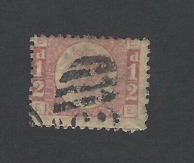 GB QV 1870 1/2d plate 19 used SG 147 £65