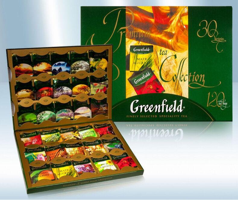 Greenfield Premium Tee Collection 120 Beutel Geschenk Set