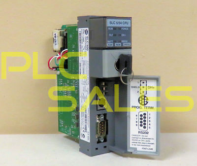 Allen Bradley 1747-l541 C  Slc500 504 Processor Frn 6