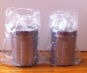 ***BRAND NEW*** Stainless Steel Canisters for Sale